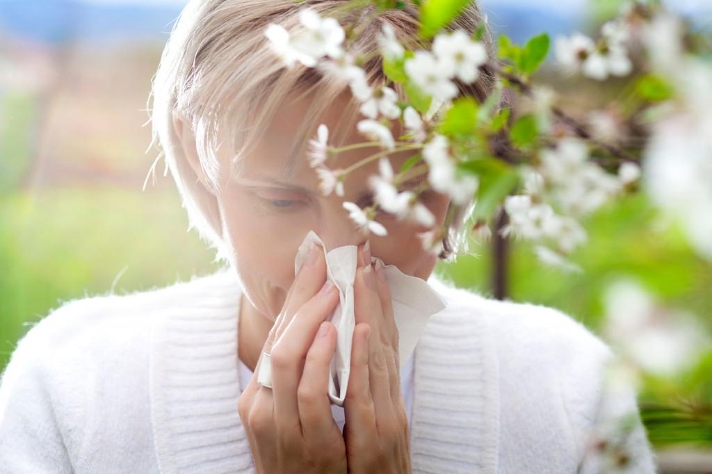 Proljeće je vrijeme alergija slika