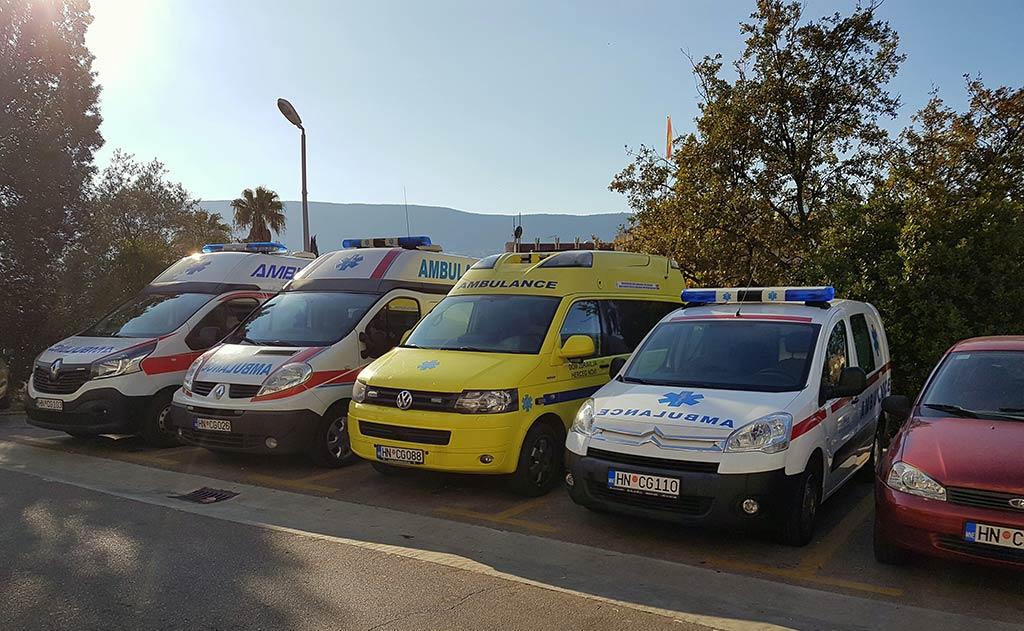 Vozni park Doma Zdravlja Herceg Novi